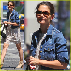 Katie Holmes: Saturday Errands!