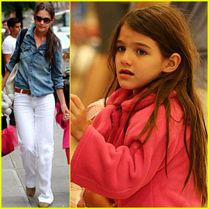 Katie Holmes &#038; Suri 'Make Meaning' in New York City