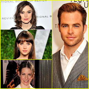 Keira Knightley: Jack Ryan Movie Frontrunner with Chris Pine!
