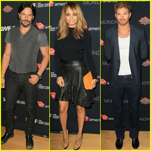 Joe Manganiello & Kellan Lutz: Sunset Strip Music Festival Studs