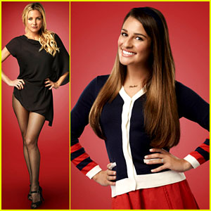 Lea Michele & Kate Hudson: 'Glee' Season 4 Promo Photos!