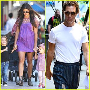 Matthew McConaughey: Vote for Drew Brees!