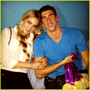 Michael Phelps &#038; Megan Rossee: Olympic Win Celebration!