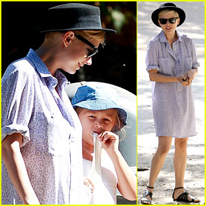 Michelle Williams & Matilda: Park Playdate!