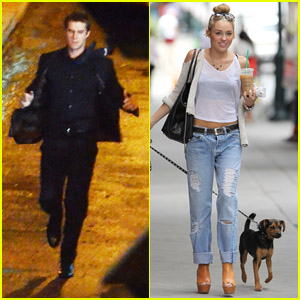 Miley Cyrus & Liam Hemsworth: Filming in Philly!