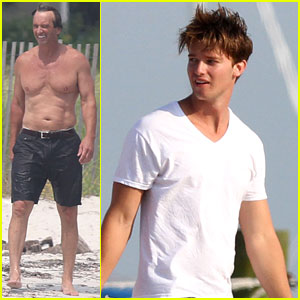 Patrick Schwarzenegger: Kennedy Compound Vacation!