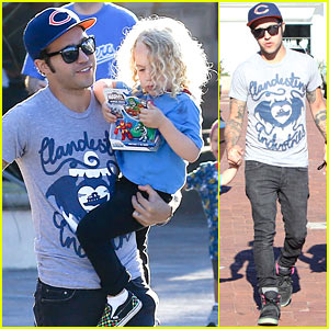 Pete Wentz: Bronx Gets New Toy!