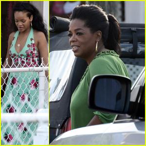 Rihanna & Oprah Winfrey: Barbados Beauties!