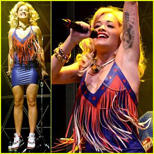 Rita Ora: V Festival Singer