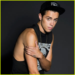 Sammy Adams Photo Shoot - JustJared.com Exclusive!
