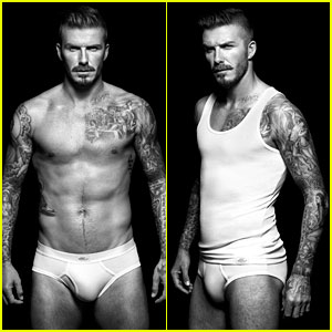 Shirtless David Beckham Bodywear Campaign Images!