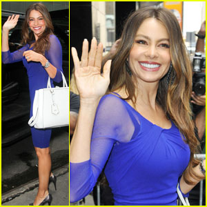 Sofia Vergara: 'Good Afternoon America' Beauty