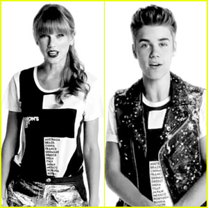 Taylor Swift & Justin Bieber: Fashion's Night Out Commercial!