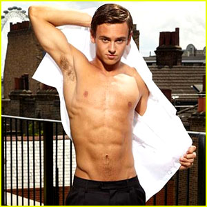 Tom Daley: Shirtless Photo Shoot for 'heat' Magazine!