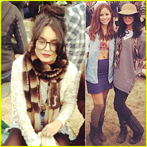 Vanessa Hudgens: Outside Lands Festival with Austin Butler!