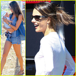 Alessandra Ambrosio: Malibu's Chili Cook Off with Noah!