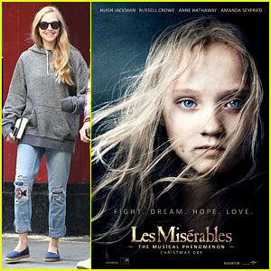 Amanda Seyfried: New 'Les Miserables' Poster!