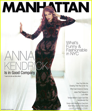 Anna Kendrick Covers 'Manhattan' Magazine