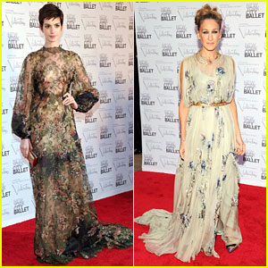 Anne Hathaway &#038; Sarah Jessica Parker: NYC Ballet Gala!