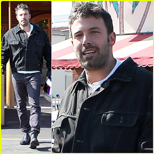 Ben Affleck: Culver City Motorcycle Man!