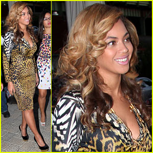 Beyonce: Leopard Print Date Night!