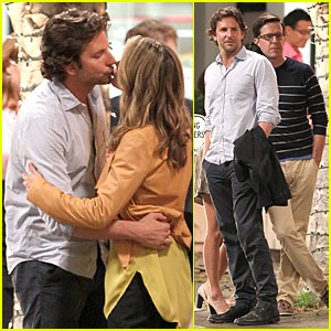 Bradley Cooper: 'Hangover Part Three' Kissing Scene!