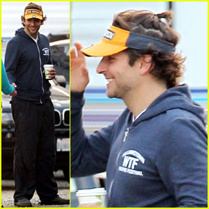 Bradley Cooper: Ponytail on 'Hangover Part III' Set!