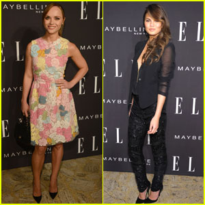 Chrissy Teigen & Christina Ricci: Elle Fashion Next at NYFW!
