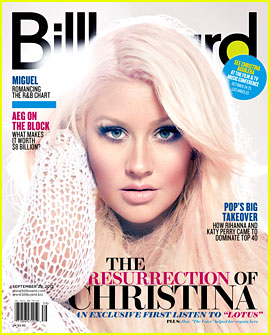 Christina Aguilera Covers 'Billboard' Magazine!