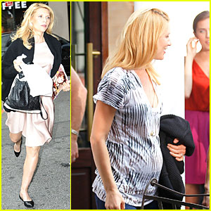 Claire Danes: 'Live With Kelly' Baby Bump!