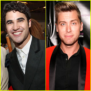 Darren Criss & Lance Bass: Fashion's Night Out at Saks!