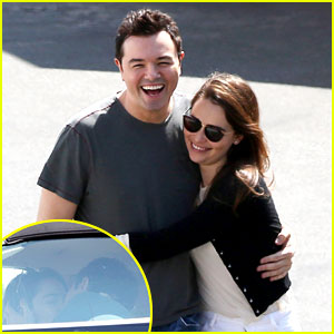 Emilia Clarke & Seth MacFarlane: Lunch Lovers!