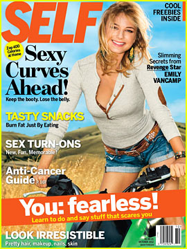 Emily VanCamp Covers 'Self' October 2012