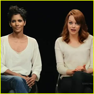 Emma Stone &#038; Halle Berry: Revlon Breast Cancer PSA