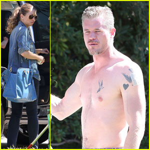 Eric Dane: Shirtless in Beverly Hills After 'Grey's Anatomy' Exit
