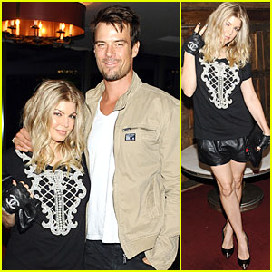 Fergie & Josh Duhamel: Elle's 'All on the Line' Celebration!