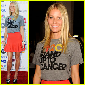 Gwyneth Paltrow: Stand Up To Cancer Telecast!