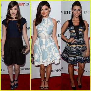 Hailee Steinfeld &#038; Lucy Hale: Teen Vogue's Young Hollywood Party!