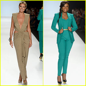 Heidi Klum &#038; Jennifer Hudson: 'Project Runway' Fashion Week Show!