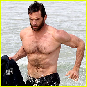 Hugh Jackman: Shirtless Sydney Stud!