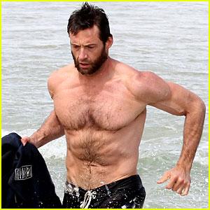 Hugh Jackman: Shirtless Sydney Stud!