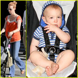 January Jones & Xander: See Ya Later, LA!
