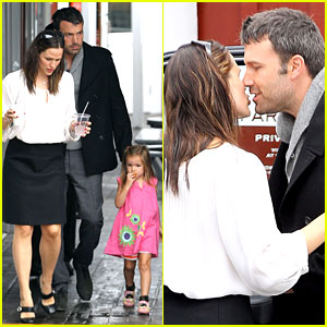 Jennifer Garner & Ben Affleck: Kiss Kiss!
