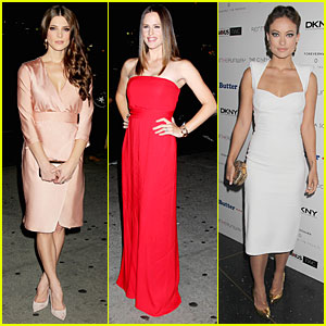Jennifer Garner & Olivia Wilde: 'Butter' New York Premiere!