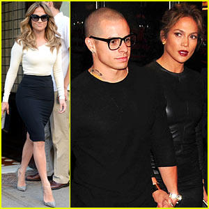 Jennifer Lopez & Casper Smart: 'Evita' Date Night!