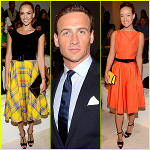 Jessica Alba &#038; Olivia Wilde: Ralph Lauren Show at NYFW!