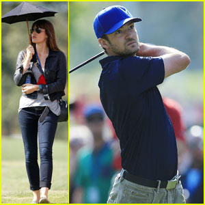 Justin Timberlake & Jessica Biel: Ryder Cup Scramble Couple