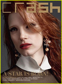 Jessica Chastain: 'Crash' Magazine Cover Girl!