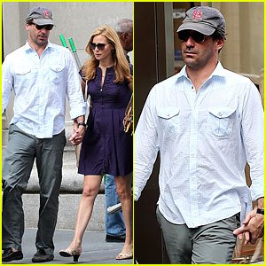 Jon Hamm &#038; Jennifer Westfeldt: Manhattan Mates!