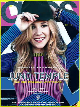 Juno Temple Covers 'Asos' Magazine October 2012
